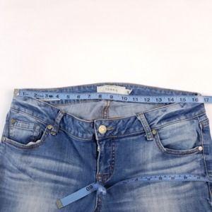 torrid Jeans - Torrid Boyfriend Jeans SZ 14 Skinny Blue Stretch